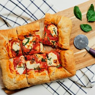 Stuffed Crust Margherita Pizza Recipe | SideChef