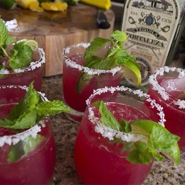 Fresh Prickly Pear Margaritas Recipe   SideChef