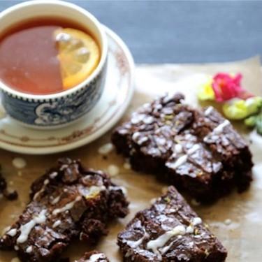 Earl Grey Chocolate Brownies Recipe   SideChef