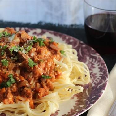 Chris Gentile's Citrus & Italian Sausage Bolognese Recipe   SideChef