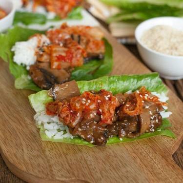 Bulgogi Mushroom Lettuce Wraps in an Instant Pot Recipe | SideChef
