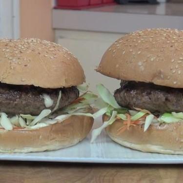 Beef Burgers with Tonkatsu Sauce Recipe | SideChef