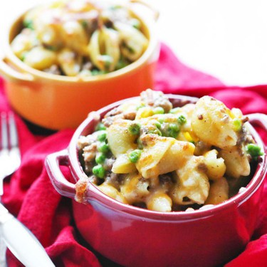 Beefy Shells and Cheese with Ranch Recipe | SideChef