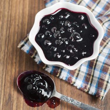 Balsamic Blueberry Sauce Recipe | SideChef
