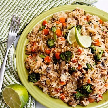 Sweet Chili Lime Fried Rice Recipe   SideChef