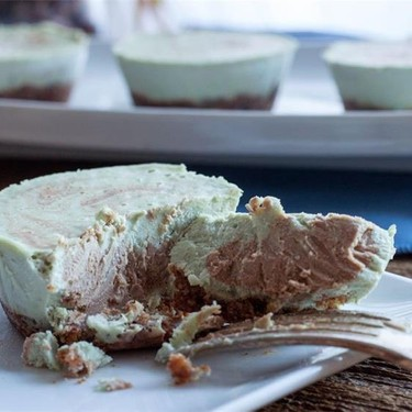 Vegan Mint Chip Cheesecake Recipe | SideChef