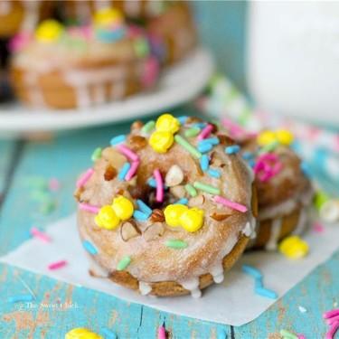 Butter Rum Banana Donuts Recipe   SideChef