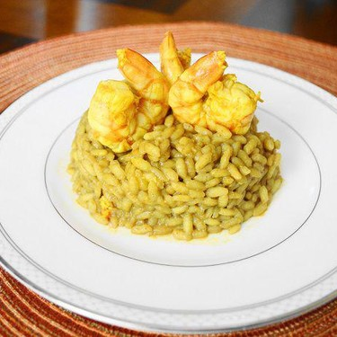 Curried Shrimp Risotto Recipe | SideChef