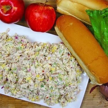 Apple Mango Chicken Salad Recipe | SideChef