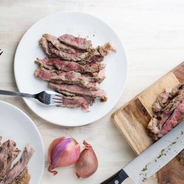 White Wine Mustard Ribeye Steak Recipe   SideChef
