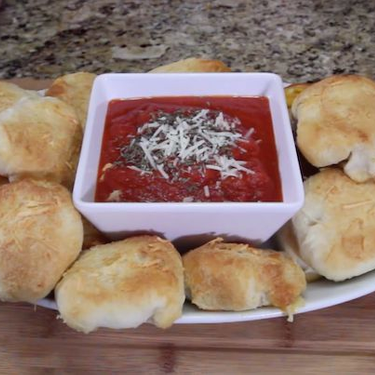 Football Finger Foods Pizza Balls Recipe | SideChef