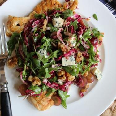 Grilled Chicken Paillard with Winter Green Salad Recipe | SideChef