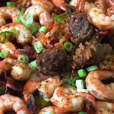 Sausage and Shrimp Jambalaya Recipe | SideChef