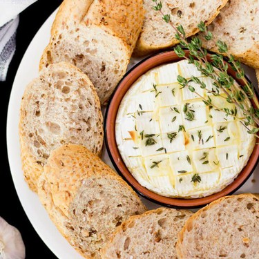 Garlic and Thyme Baked Camembert Recipe   SideChef