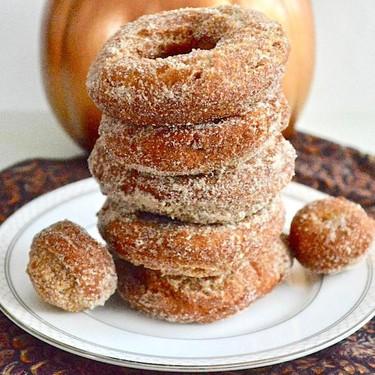 Pumpkin Spice Donuts Recipe | SideChef