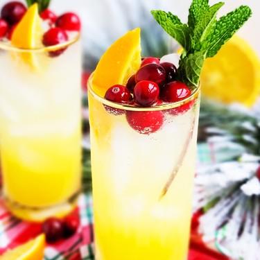 Sparkling Orange Mint Cocktail Recipe | SideChef
