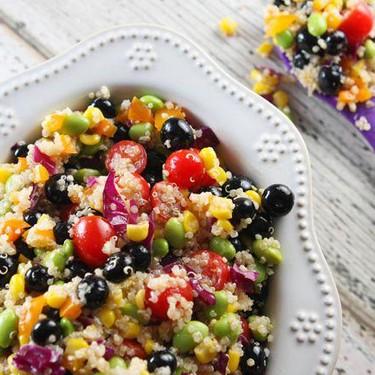 Rainbow Quinoa Salad Recipe   SideChef