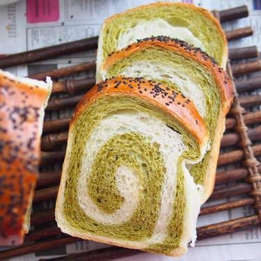 Matcha Swirl Bread Recipe | SideChef