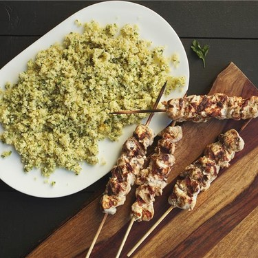 Mediterranean Spiced Chicken Kebobs Recipe | SideChef