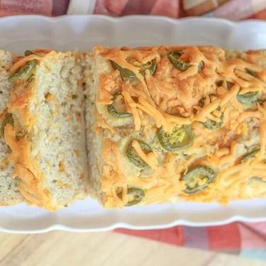 Easy Cheesy Jalapeno Beer Bread Recipe | SideChef