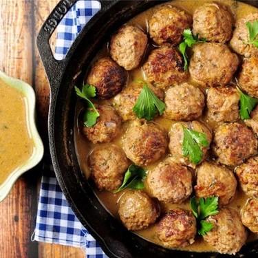 Swedish Meatballs with Gravy Recipe | SideChef