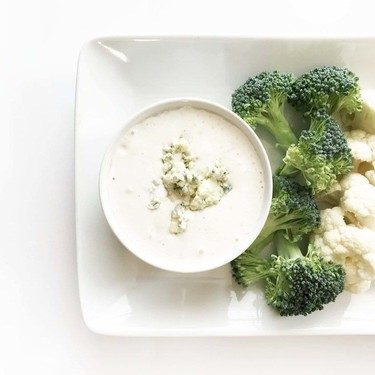 Healthified Gorgonzola Port 'Blue Cheese' Dressing Recipe | SideChef