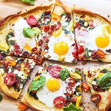 Breakfast Pizza Recipe | SideChef