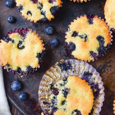 Lemon Blueberry Corn Muffins Recipe | SideChef