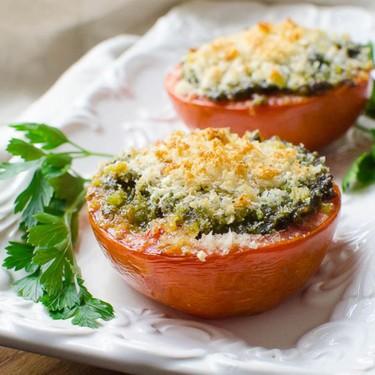 Spring Pesto Roasted Tomatoes Recipe | SideChef