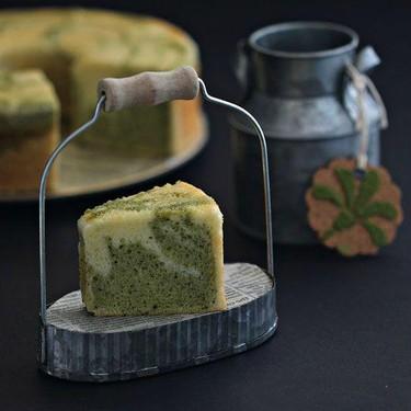 Matcha Marble Cake Recipe | SideChef
