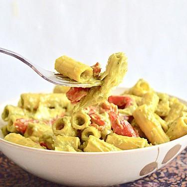 Avocado Veggie Pasta Recipe   SideChef