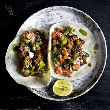 Jerked Sriracha Roast Pork Tacos Recipe   SideChef