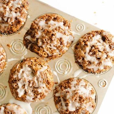 Almond Butter Coffee Cake Muffins Recipe   SideChef