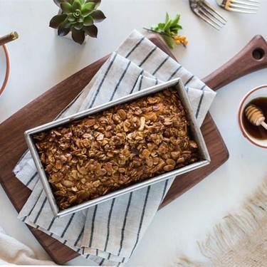 Orange Polenta Cake with Almond & Oat Streusel Recipe | SideChef