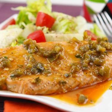 Spicy Buffalo Salmon Recipe   SideChef