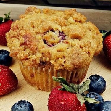 Mixed Berry Muffins Recipe | SideChef