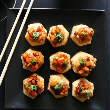 Spicy Asian Chicken Puff Pastry Bites Recipe | SideChef