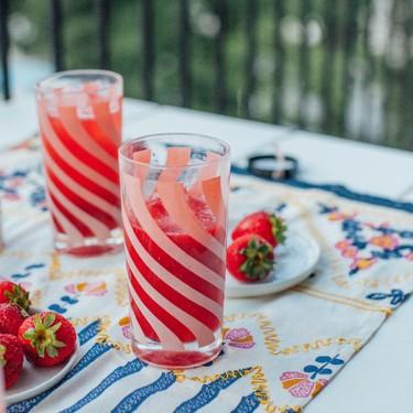 Strawberry Lavender Cocktail Recipe | SideChef