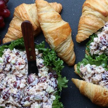 Smoked Turkey & Gruyere Salad on Croissants Recipe   SideChef