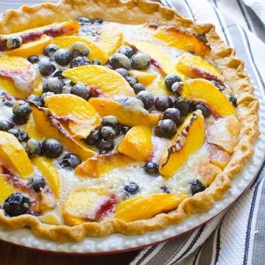 Peach Blueberry Pie Recipe   SideChef