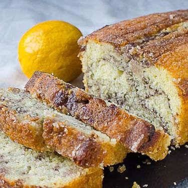Meyer Lemon Blackberry Swirl Loaf Recipe   SideChef