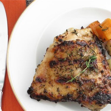 Grilled Chicken with Herb Dry Rub Recipe | SideChef