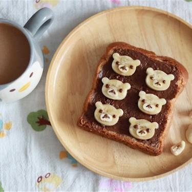 Choco-Banana Rilakkuma Toast Recipe | SideChef
