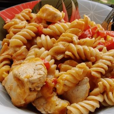 Fiesta Chicken Pasta Recipe | SideChef