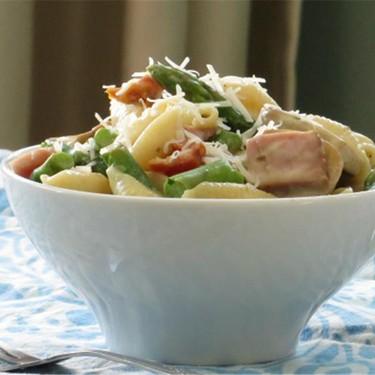 Shells With Ham, Asparagus, and Lemon Cream Recipe | SideChef