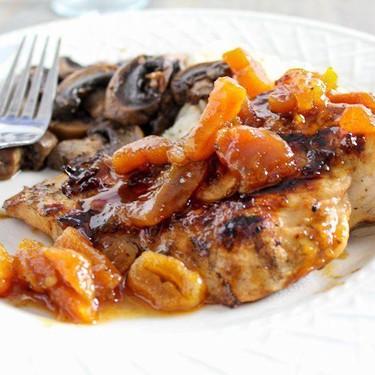 Grilled Apricot Chicken Recipe   SideChef