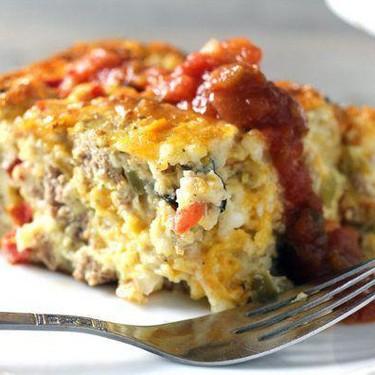 Turkey Vegetable Breakfast Bake Recipe | SideChef