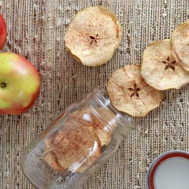 Oven Baked Cinnamon Apple Chips Recipe   SideChef