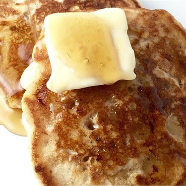 Banana Walnut Pancakes Recipe | SideChef