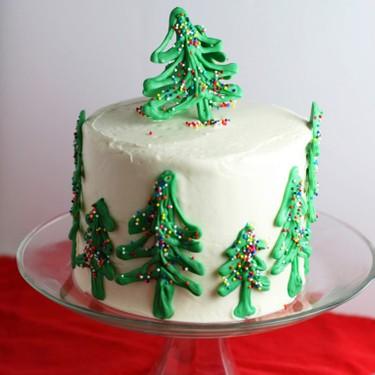 Chocolate Christmas Tree Cake Recipe | SideChef